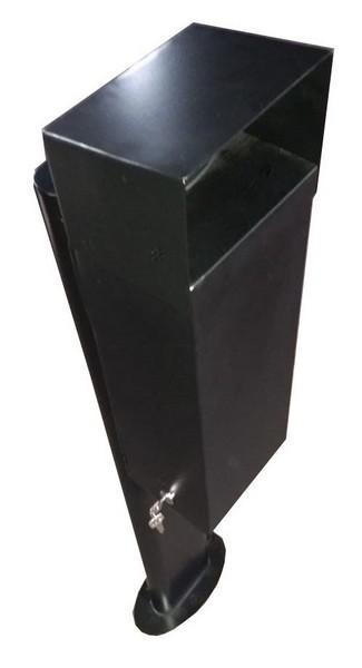 Urna coletora de crachá